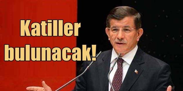 Başbakan Ahmet Davutoğlu; Tahir Elçinin katillerinden hesap sorulacak