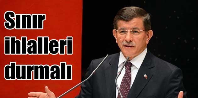 Başbakan Davutoğlu...