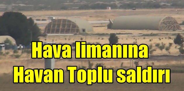 Batman Havalimanına havan toplu saldırı
