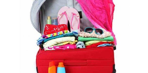 Bavul nasıl hazırlanır? Bavul hazırlama tüyoları