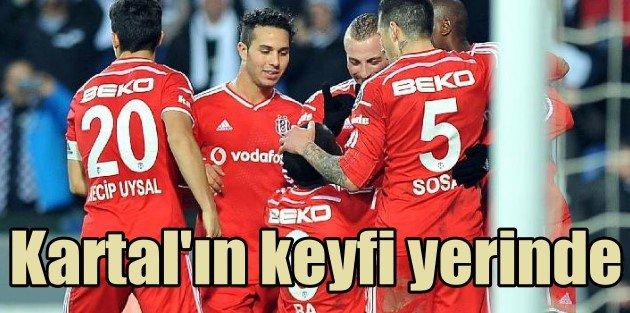 Beşiktaş Demba ile 3 puanı kaptı