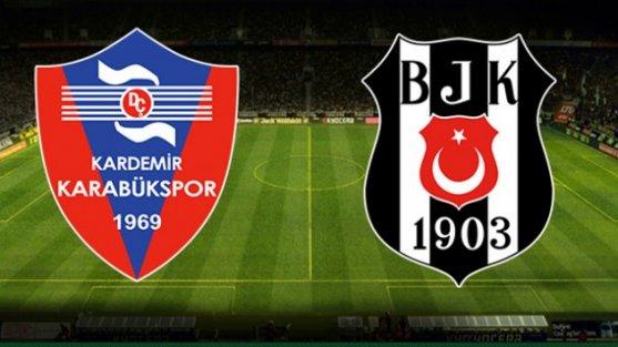 Beşiktaş-Karabükspor 3-0