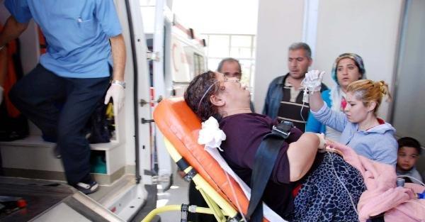 Besni'de sobadan zehirlenen çift hastaneye kaldırıldı