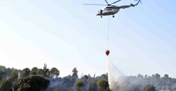 Bodrum'da depoda çıkan yangın araçlara sıçradı
