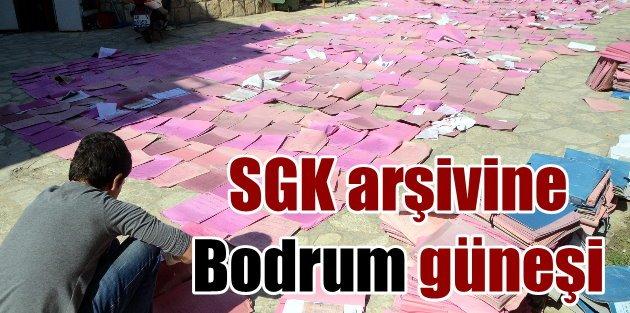 Bodrumda SGK arşivi bakın ne hale gelmiş
