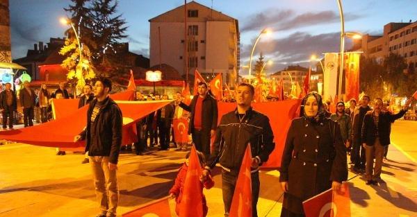 Bolu'da Mescid-i Aksa Protestosu