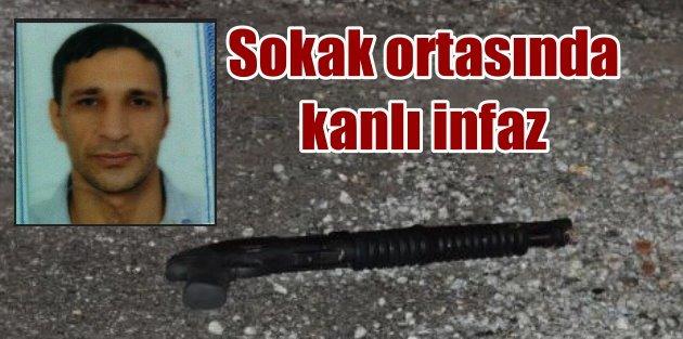 Buca'da sokak ortasında pompalı tüfekle infaz