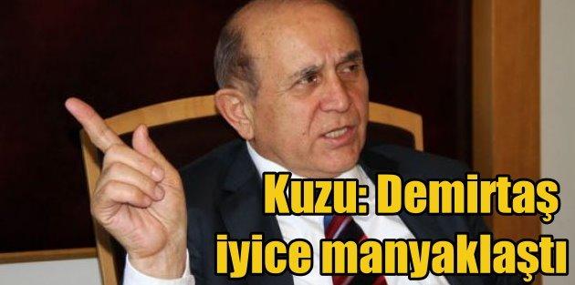 Burhan Kuzu, Demirtaş iyice manyaklaştı