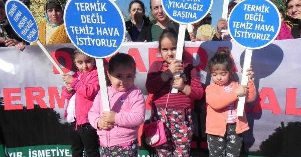 Bursa'da Termik Santral Tepkisi