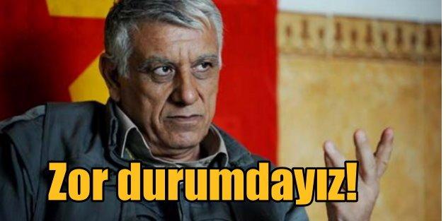 Cemil Bayık: En zor günleri yaşıyoruz, bize silah verin!