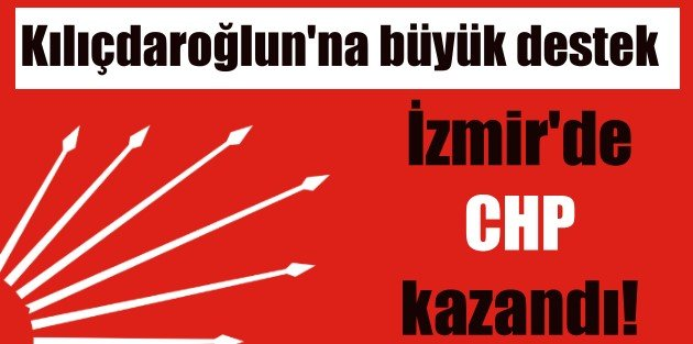 CHP Önseçim | İzmir'de Kılıçdaroğlu'na büyük destek çıktı
