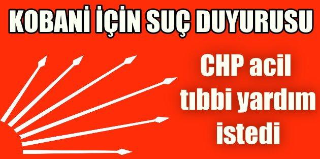 CHPden Suruç-kobani Raporu : Bölge İçin Derhal Acil Eylem Planı Oluşturulmalı