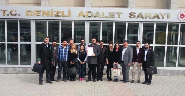 CHP'li gençlerden Mehmet Cengiz'e 5 kuruşluk tazminat davası