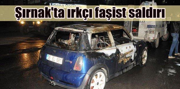 Cizrede Kürtçe bilmiyor diye arabasını yaktılar