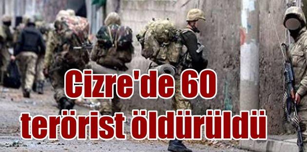Son dakika Cizre, O binada 60 PKKlı öldürüldü