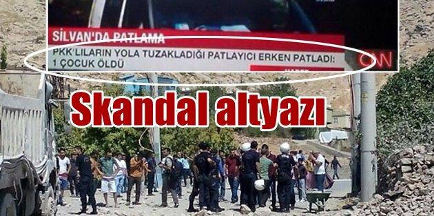 CNN Türkten bomba başlık: Bomba erken patladı