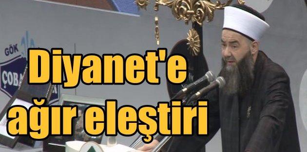 Cübbeli Ahmet Hoca; Diyanet büyük yanlış içinde