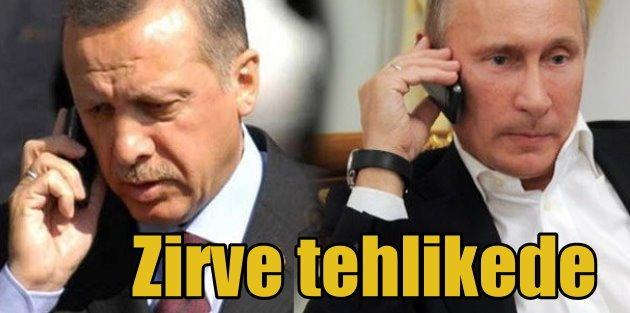 Cumhurbaşakanı Erdoğan Putin Zirvesi tehlikede: Moskova ayak sürüyor