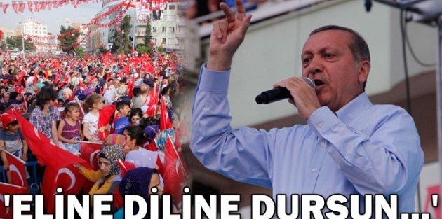 Cumhurbaşkanı Erdoğan Eline Diline Dursun...