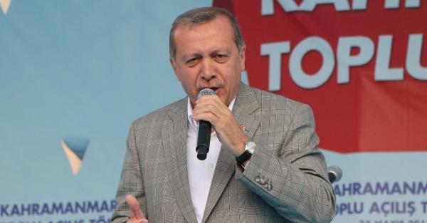Cumhurbaşkanı Erdoğan Kahramanmaraş'ta 69 tesisin toplu açılış törenine katıldı