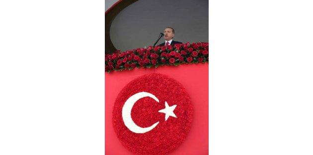 Cumhurbaşkanı Erdoğan : Türkiye Cumhuriyeti Milletimizin Ortak Eseridir