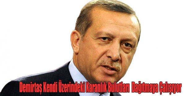 Cumhurbaşkanı Erdoğandan Demirtaşa Sert Sözler Kendi Üzerindeki Karanlık Bulutları Dağıtmaya Çalışıyor