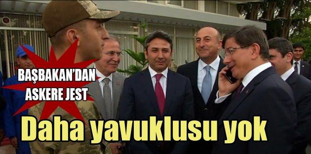 Davutoğlu Asker ailesini...