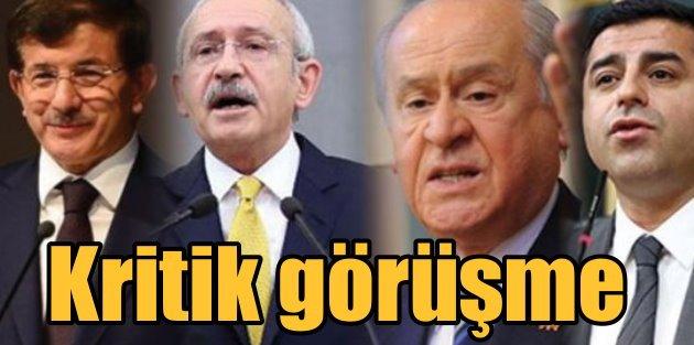 Davutoğlu, reformları görüşmek için muhalefete gidiyor