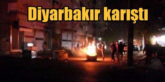 DBP çağrısı, Diyarbakır'ı karıştırdı; Gösteriler sürüyor