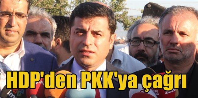 Demirtaş öyle bir çark etti ki: Devlet silah bırakır mı? PKK elini tetikten çeksin