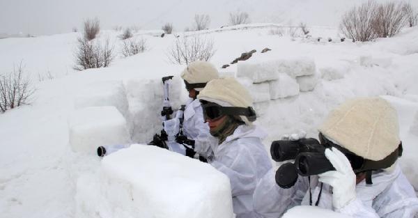 Derin Kar ve Şiddetli Soğuklarda Hayatta Kalma Tatbikatı