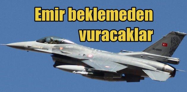 Diyarbakır Hava Üssü'nde turuncu alarm