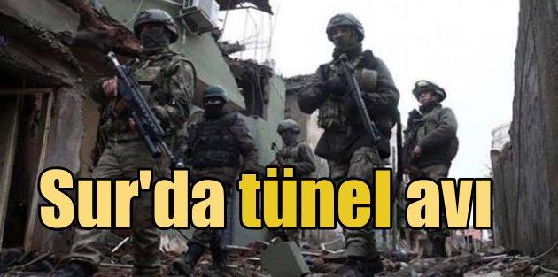 Diyarbakır Sur'da son durum, PKK tünellerine operasyon