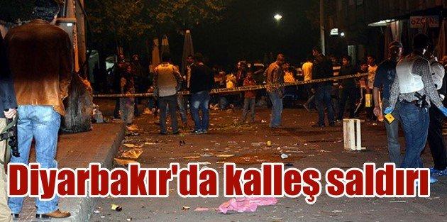 Diyarbakırda Astsubaya kalleş saldırı