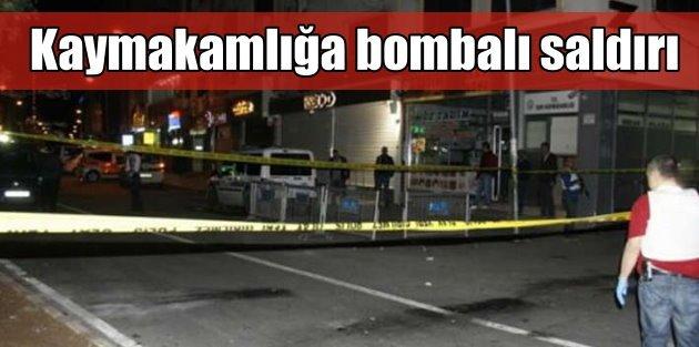 Diyarbakırda teröristler bombayla saldırdı