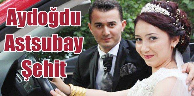 Diyarbakırdan acı haber, Aydoğdu Astsubay şehit!