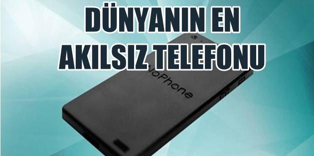 Dünyanın en akılsız telefonu; Tuşları bile yok