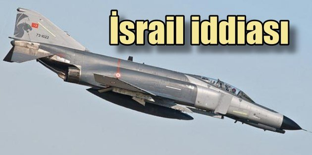 Düşen savaş uçakları için İsrail iddiası