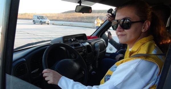 Edirne'de 112'nin Kadın Ambulans Sürücüleri