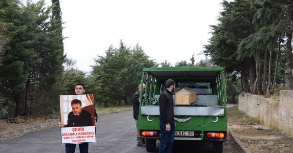 Ek fotoğraflar - Fatih'te öldürülen Tacik muhalif lider İstanbul'da toprağa verildi
