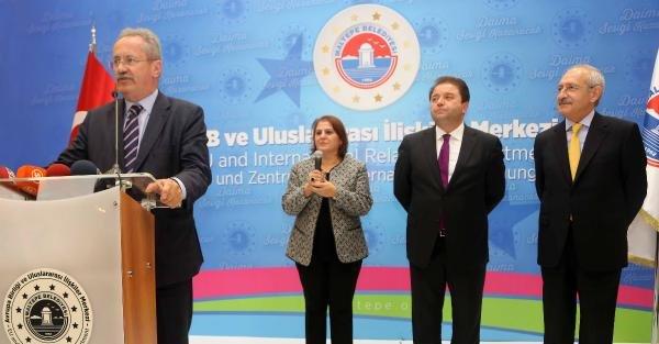 (ek Fotoğraflar) Kılıçdaroğlu, Maltepe'de Ab Ve Uluslararası İlişkiler Merkezi'nin Açılışına Katıldı