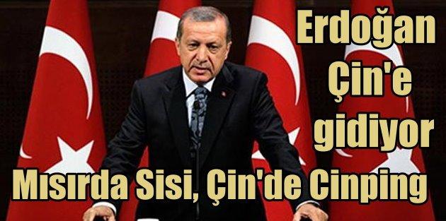 Erdoğan Çine gidecek: Gündemde katliamlar var mı?