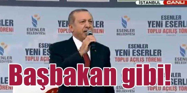 Erdoğan dayanamadı, toplu açılışa gitti