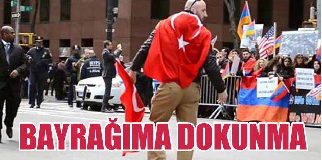 Ermenilerin elinden Türk bayrağını alan genç Sakaryalı çıktı