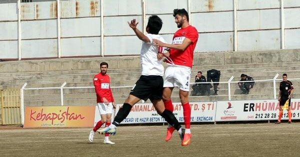 Erzincan Refahiyespor-Gölcükspor: 2-2