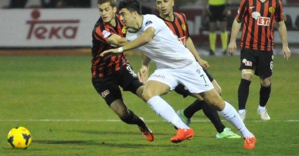 Eskişehirspor-Bursaspor maç fotoğrafları