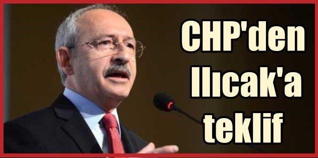 Eyvah eyvah, CHP Nazlı Ilıcaka Milletvekilliği teklif etti