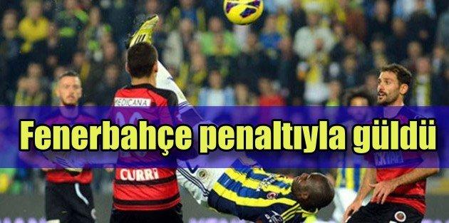 Fenerbahçe 3 puanı penaltılarla aldı