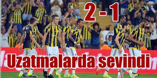 Fenerbahçe - Antalyaspor: 2 - 1 | Uzatmalarda işi bitirdi