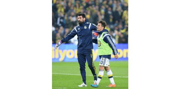 Fenerbahçe-Galatasaray maçının ilk yarı fotoğrafları